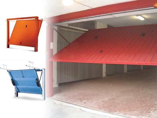Porte basculanti e sezionali porte per garage porte for Arredo casa montaione