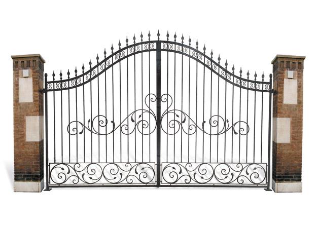 Cancelli in ferro battuto cancello carrabile cancello for Lance per cancelli in ferro