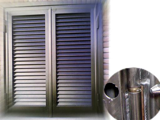 Produzione vendita e posa in opera di persiane alluminio for Costo porta finestra