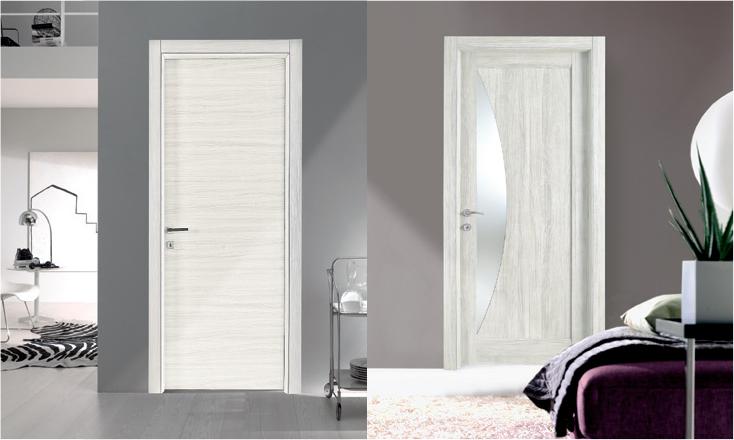 Porta da interni in laminato collezione sydney for Economici rivestimenti in legno