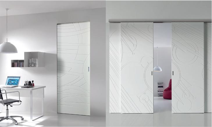 Porta per interni di design collezione costellazioni for Porte d interni design