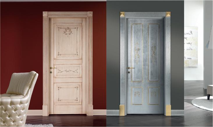 Porte da interni artigianali dipinte a mano collezione antikite - Porte da interno economiche ...