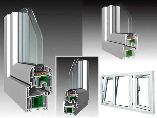 Produzione vendita e posa in opera di finestra in pvc a - Internorm prezzi ...