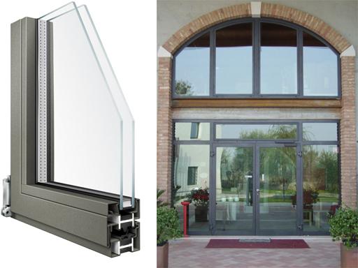 Produzione vendita e istallazione di finestre alluminio for Finestre scorrevoli usate