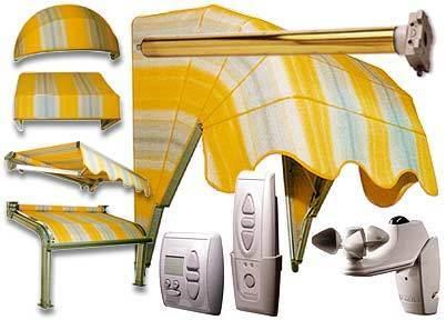 Produzione vendita e posa in opera di infissi finestre for Tende da sole elettriche prezzi