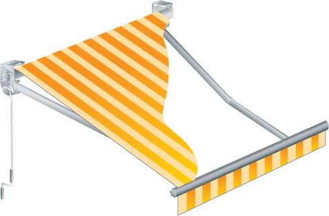 Tende da sole a bracci estensibili tende da sole su barra for Tende da sole per esterni prezzi
