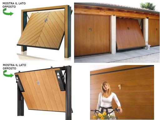 Porte basculanti e sezionali porte per garage porte - Basculante con porta pedonale prezzo ...