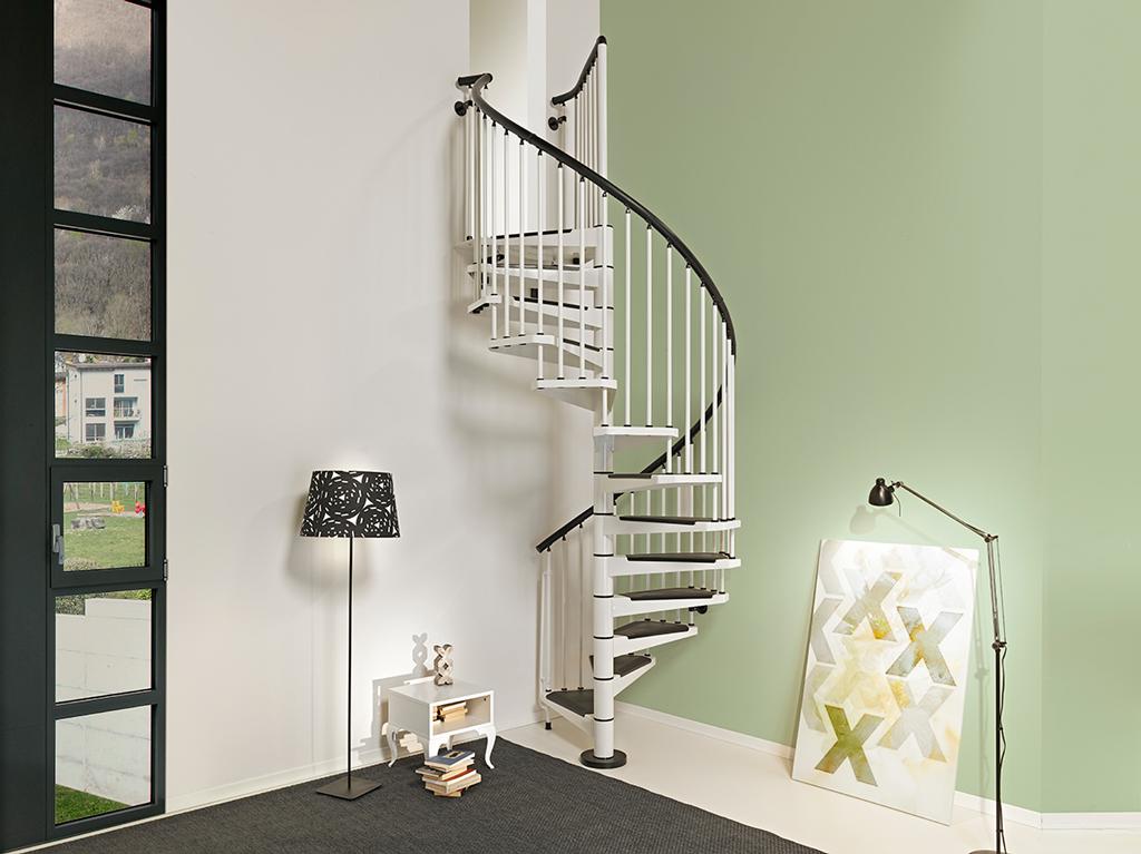 Produzione vendita e posa in opera di scale a chiocciola for Quadrato della scala a chiocciola