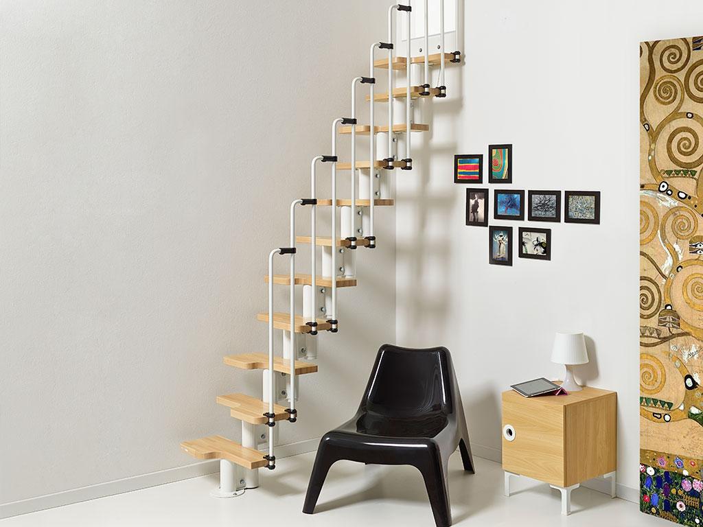 Produzione vendita e posa in opera di scale salvaspazio for Idee scale per soppalchi