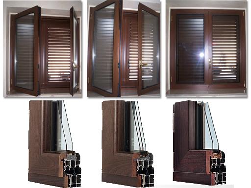Finestre in alluminio prezzi e modelli metal florence - Porte e finestre in legno prezzi ...