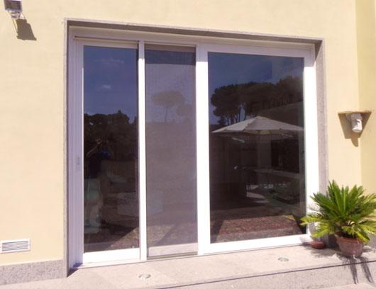 Zanzariere e veneziane zanzariere su misura prezzo - Zanzariere per porte finestre prezzi ...