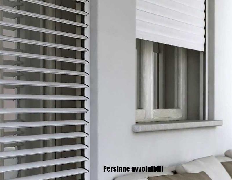 Produzione vendita e posa in opera di persiane alluminio for Avvolgibili orientabili prezzi